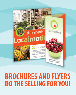 Full color brochure printing